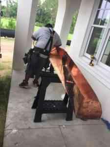 copper roof installation vallucia county fl