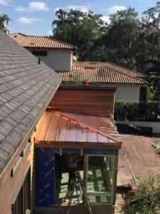 copper roofing installation windermere fl
